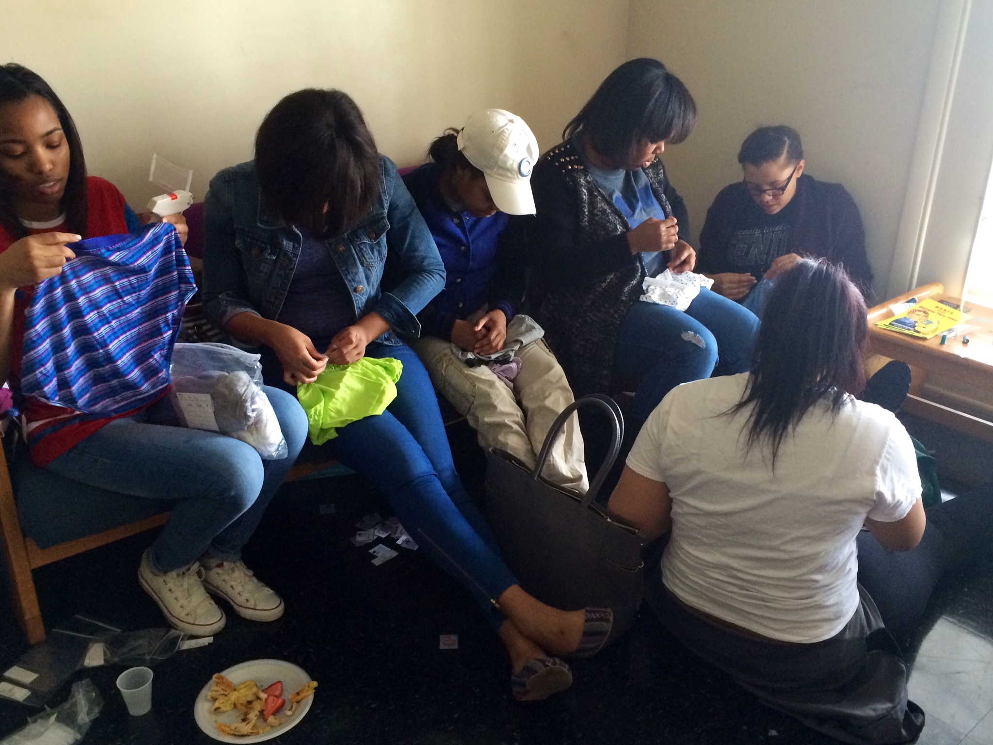 3-2014 Volunteer Sewing Party 07