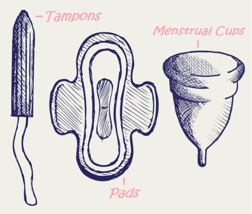 mentrual products